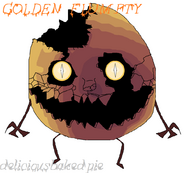 ONAF Golden Flumpty Fanart Labled