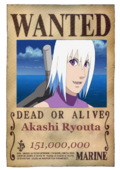 Akashi Wanted Poster