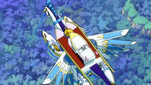 Giant Wings Portrait