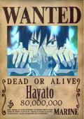 Hayato Wanted Poster