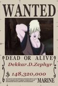 Dekkar.D.Zephyr Wanted