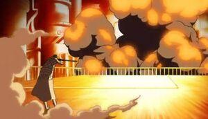 Explosion causée par Kidd