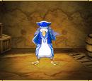 Blue Pirate Penguin
