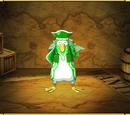 Green Pirate Penguin