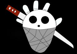 Jolly Roger White Hand