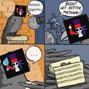 Robots gigantes