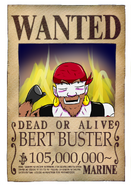 Wanted Bert post