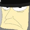 Pewter portrait