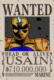 Usain Wanted
