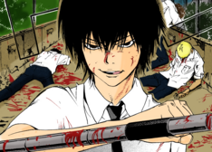 Hibari vs. Criminales