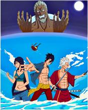 Piratas Abanderados Arco del Gran Día portada