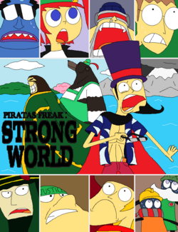 Piratas Freak Strong World portada
