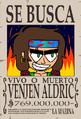 Venjen Aldric Wanted