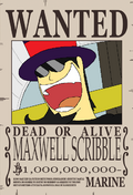 Maxwell Scribble recompensa 6
