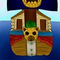 Pineapple Split portrait