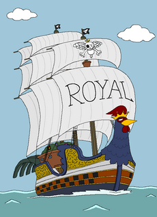 Royalty Rooster