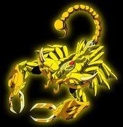 Zanot forma escorpión