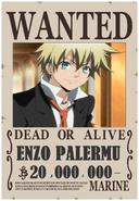 Enzo primera recompensa