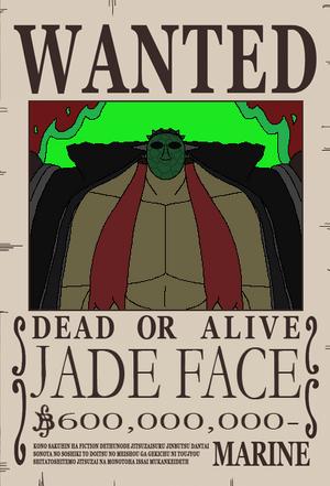 Cara de Jade recompensa