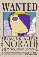 Norah recompensa