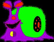 Den den mushi grignoter