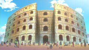 Coliseo corrida