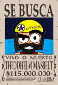 Theodhelm Masbelt Wanted
