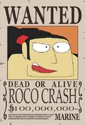 Roco Crash recompensa