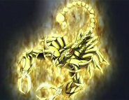 Zanot forma escorpión Dorai