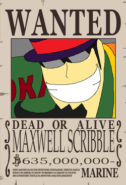 Maxwell Scribble recompensa