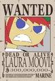 Laura Moovi recompensa
