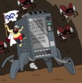 Akayama y su máquina expendedora movil.png