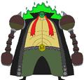 Cara de Jade cuerpo completo