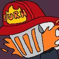 Bomber Burns portrait