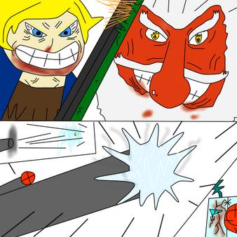 Lumiere y Fist vs tierra
