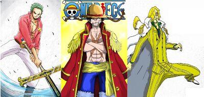 Kaizoku O Monkey D Luffy