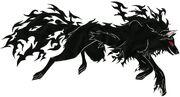 Hellhound kurai by sabi13-d4ro13c