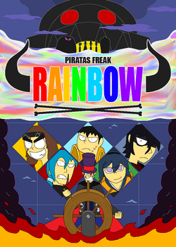 Piratas Freak Rainbow portada