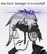 Ave Azul Vengador