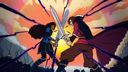 Rosolynde vs Konstantine por Kandawalker
