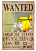 Wanted Evangeline post