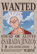 Sarada Jinzo wanted