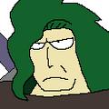 Komodo portrait