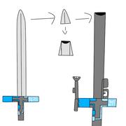 Rifle-Espada Wurm