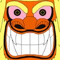 Fu God portrait