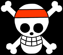 Jolly Roger Piratas Vincha Roja