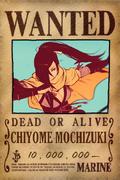 Chiyome recompensa