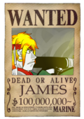Wanted James post