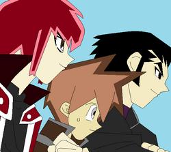 Aaron, Daniel y Jesse.