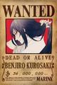 Segunda recompensa de Benjiro